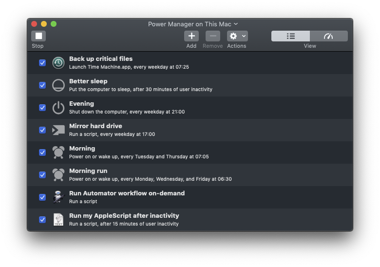 DssW Power Manager for macOS